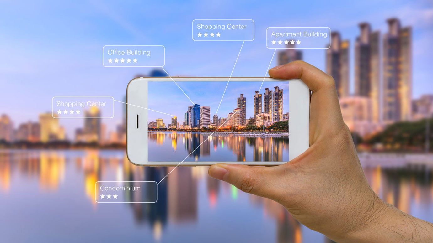 Augmented Reality, Sightseeing, mobile devices