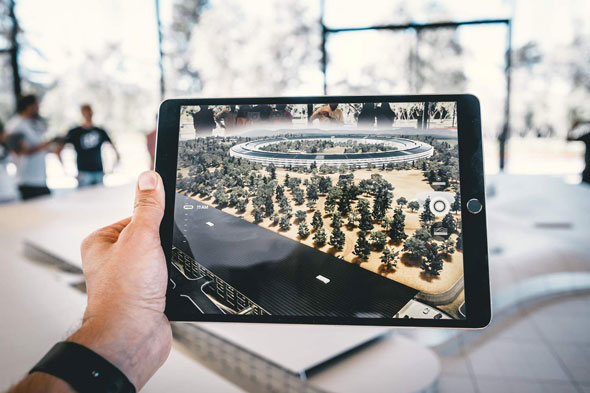 Augmented Reality mit Tablet, Softwareentwicklung