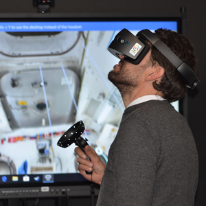 MT Aerospace AG, Virtual Reality Trainingssimulation für die Montage
