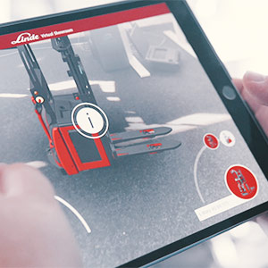 Linde Material Handling GmbH, Augmented Reality, Augmented Reality App als Vertriebstool
