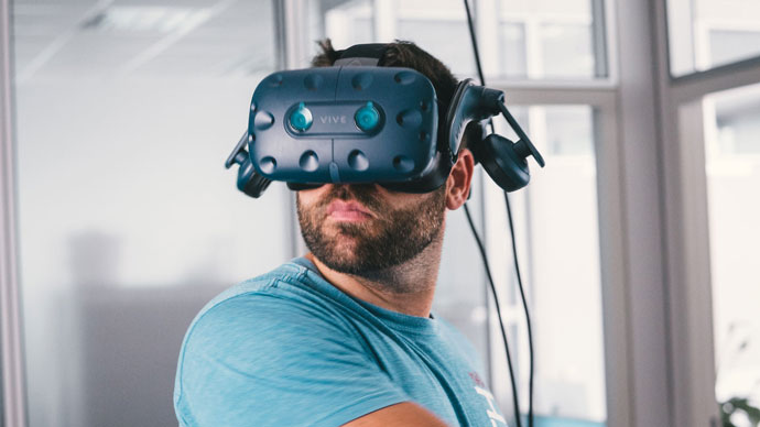 Virtual Reality HTC Vive